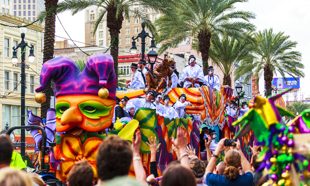 CLASSING UP YOUR MARDI GRAS PLANS: Take a Literary Tour of New Orleans, No Beads Necessary