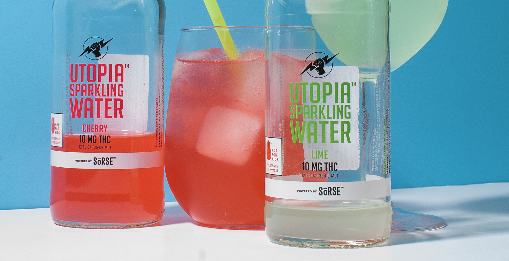 Utopia Sparkling Water by Tarukino